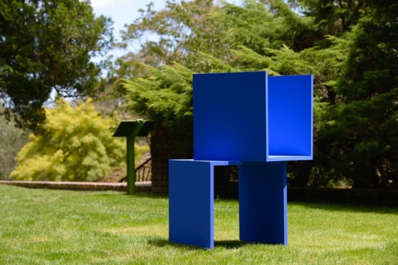 Beata Geyer, 'OPEN MODULAR', 2015. ------- MOUNTAIN FOLK - A GEOMETRIC VIEW - is curated by Billy Gruner, and presented by Modern Art Projects (MAP) at Everglades Gallery, Everglades House and Gardens, Leura, Blue Mountains from Feb 7th - March 1st 2015. Opening Feb 7th 2-4pm with live performances by The WOW signal and guest speaker architect Richard Silink. Entry to the Everglades is free of cost for the opening only - but bookings must be made via Eventbrite link on website. Standing proud within its own spectacular setting at Everglades House overlooking the Jamison Valley. the Studio Terrace Gallery was reportedly co-designed in 9135 by its Belgian owner Henri Van De Velde and renowned Danish gardener Paul Sorensen. Conceived as an 'outside room', the functionalist and modernist building with its stunning formal gardens, terraces and original swimming pool encapsulates an essentially minimal or reductive aesthetic. The Studio Terrace is described as significant Cubist design by Colleen Morris, Howard Tanner & Phillip Goad, National Trust Quarterly, August 2002. For this reason an exhibition looking at the geometric in art, its historical relationship in design, and critical interpretation today as a defining influence on Australian architecture, visual art, and music appears a rational response for the select group of artists invited to celebrate the Studio Terrace's ongoing cultural value. The title MOUNTAIN FOLK - A GEOMETRIC VIEW reflects upon two matters. Firstly, artists, designers, architects and son on have long made distinctions concerning their response to the notion of the sublime in making art - seen either in dynamic (natural) or mathematical (plastic/abstract) terms. Secondly, the show reflects upon the nature of local contemporary art production today and how a unique circle of contemporary artist will responsively engage to the historical with contemporary ideas. www.modernartprojects.org info@modernartprojects.org 0431 434 904 This project i